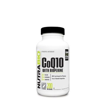 NutraBio CoQ10 with Bioperine