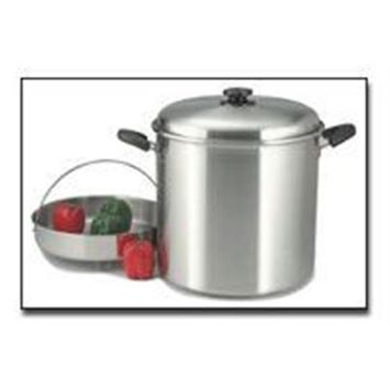 Bnf Precise Heat 30qt Waterless Stock Pot with Steamer Basket