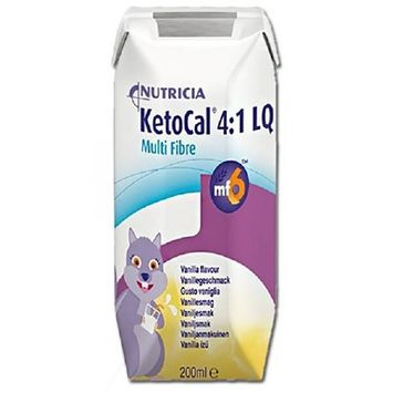 Ketocal 4:1 Ketocal Oral Supplement 4:1 Vanilla 300 Gram Can Powder Case of 6