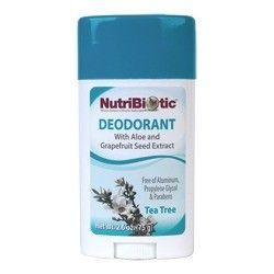 Deodorant Tea Tree Nutribiotic 2.6 oz Stick
