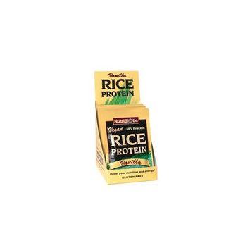 Nutribiotic Vegan Rice Protein Vanilla, 12/.53 oz. Pkts