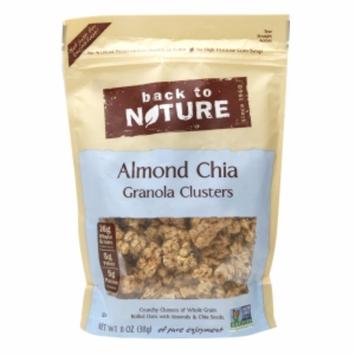 Back To Nature Granola Clusters Almond Chia 11 oz
