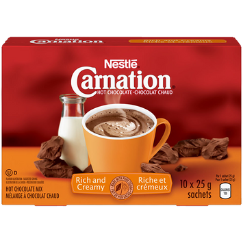 Nestle® Carnation® Rich And Creamy Hot Chocolate