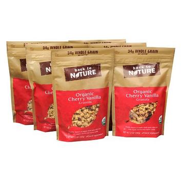 Back to Nature Organic Granola 6 Pack