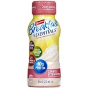 Carnation Breakfast Essentials Complete Nutritional Drink Creamy Strawberry - 6 CT