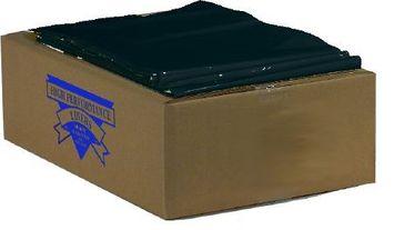 Colonial Bag Trash Bag Black, 33 x 40, Coreless Roll, 33 gallon, Extra Heavy Duty, 16 mic. 250/Pack, 10 Packs