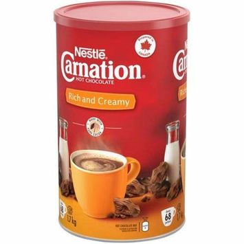 Nestle Carnation Rich and Creamy Hot Chocolate Mix, 1.7kg / 60 oz (Imported from Canada)