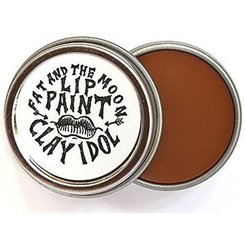 Fat and The Moon - All Natural/Organic Clay Idol Lip Paint (.25 oz)