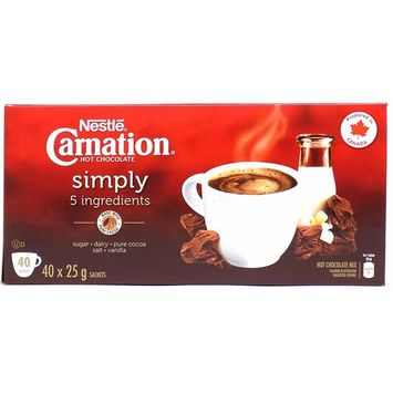 Nestle Carnation Simply Hot Chocolate (40 Packets)