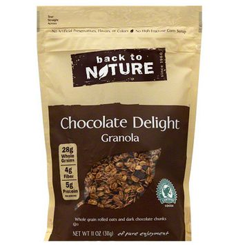 Back to Nature Chocolate Delight Granola, 11 oz, (Pack of 6)