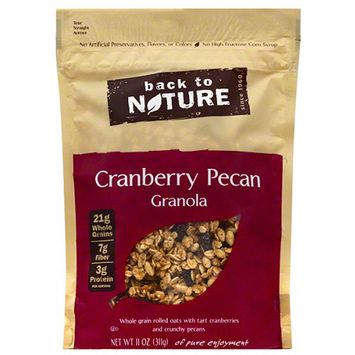 Back to Nature Cranberry Pecan Granola, 11 oz, (Pack of 6)