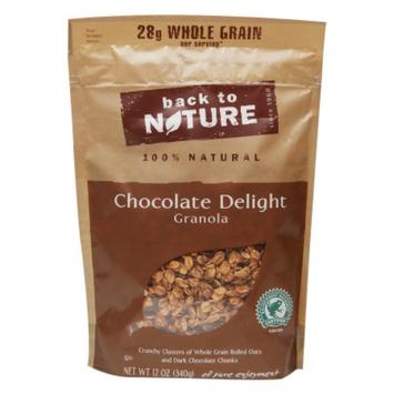 Back to Nature Chocolate Delight Granola, 12 oz
