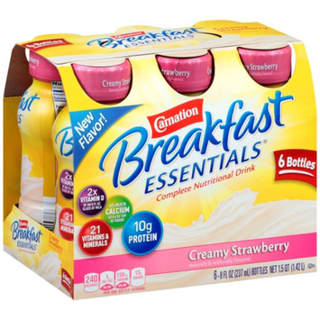 Carnation Breakfast Essentials Ready To Drink, Creamy Strawberry, Strawberry