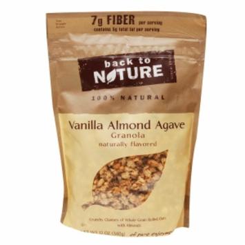 Back to Nature Vanilla Almond Agave Granola, 12 oz