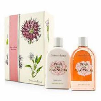 Crabtree & Evelyn Pear & Pink Magnolia Duo: Body Wash 250ml + Body Lotion 250ml