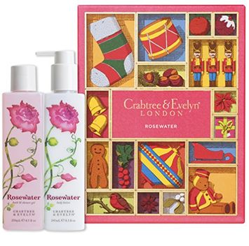 Crabtree & Evelyn Rosewater Bath And Body Duo