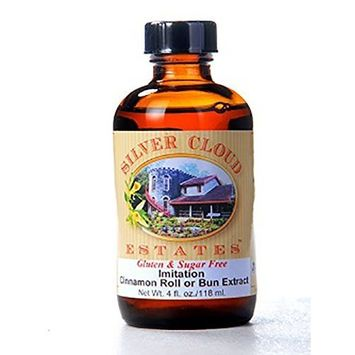 Cinnamon Roll or Bun Extract, Natural & Artificial - 4 fl. oz. bottle