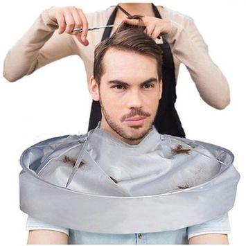 YJYdada DIY Hair Cutting Cloak Umbrella Cape Salon Barber Salon And Home Stylists Using