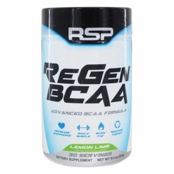 RSP Nutrition - ReGen Advanced BCAA Formula Lemon Lime - 9.3 oz.