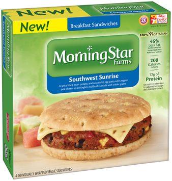 MorningStar Farms® Southwest Sunrise Breakfast Sandwiches
