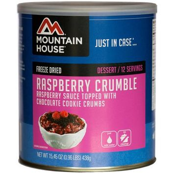 Mountain House Freeze Dried Raspberry Crumble, 15.45 oz