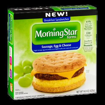 MorningStar Farms Sausage, Egg & Cheese - 4 CT