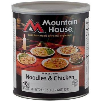 Mountain House 290131 Noodles and Chicken - 10 Can