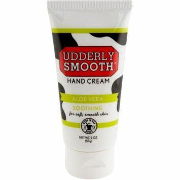 Udderly Smooth Hand Cream with Aloe Vera, 2 Oz