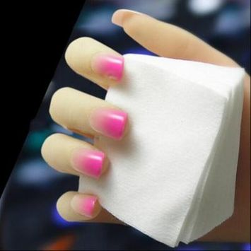900pcs Nail Art Manicure Wipes Cotton Lint Pad High Water Absorption Capacity