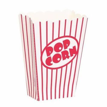 Small Movie Theater Popcorn Boxes (Pack of 8)