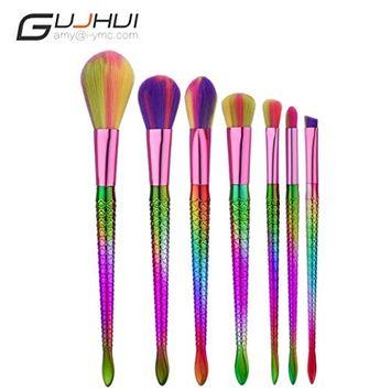 Hunputa Make Up Foundation Eyebrow Eyeliner Blush Cosmetic Concealer Brushes