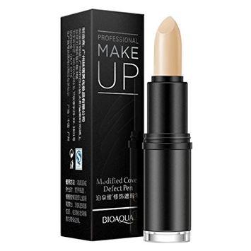 Hunputa Face Foundation Creamy Camouflage Concealer Pen Brand Eye Concealer Stick Facial Makeup Mineral Contour Concealer