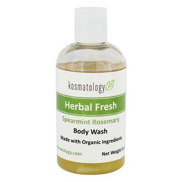 Herbal Fresh Body Wash Spearmint Rosemary - 8 fl. oz.