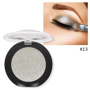 Wqueen 20 Colors Makeup Pearl Metallic Eyeshadow Palette Available Diamond Eye Shadow