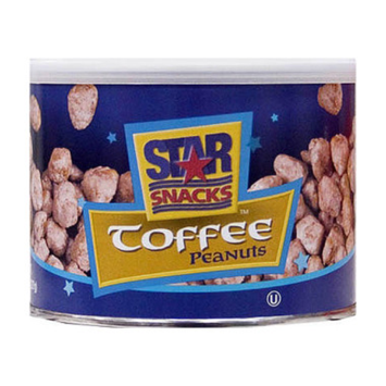 Star Snacks Toffee Peanuts, 5 oz