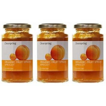 (3 PACK) - Clearspring - Org Fruit Spread Apricot   290g   3 PACK BUNDLE