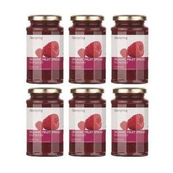 (6 PACK) - Clearspring - Org Fruit Spread Raspberry   290g   6 PACK BUNDLE