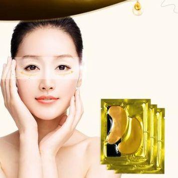 DZT1968 5PCS Moisturizing Beauty Gold Collagen Crystal Eye Mask To The Dark Eye Water