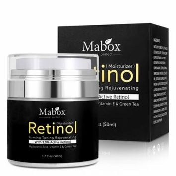 DZT1968 Retinol Moisturizer Cream For Face and Eye Area 1.7 Oz With Retinol Hyaluronic