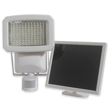 Nature Power Solar Powered Motion Activated Security Light in White