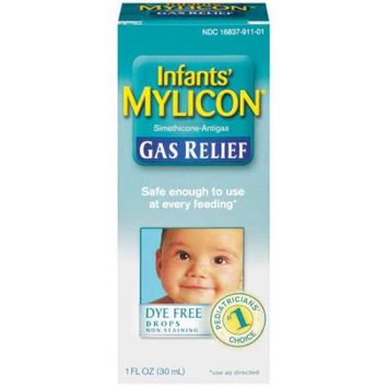Mylicon Infants Gas Relief Drops, Non-Staining Formula
