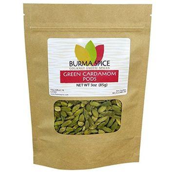 Green Cardamom Pods : Dried Indian Spice : Kosher