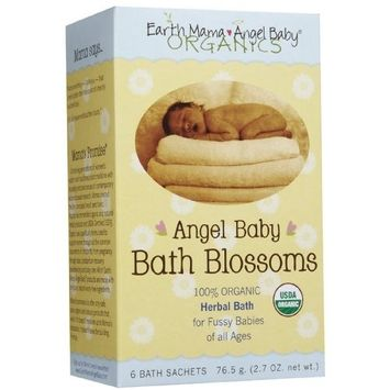 Earth Mama Angel Baby Angel Baby Bath Blossoms 42 g. (1.5 oz.)