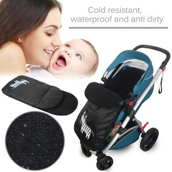 Windproof Cold-Proof Baby Stroller Sleeping Bag Winter Autumn Cover Mat