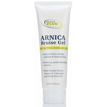 Miracle Plus Arnica Bruise Gel for bruising, swelling, discoloration.