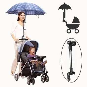 Plastic Handicraft Adjustable Stroller Sunshade Umbrella Support Structure Baby Chair Bar Holder Pram Mount Stand Bracket