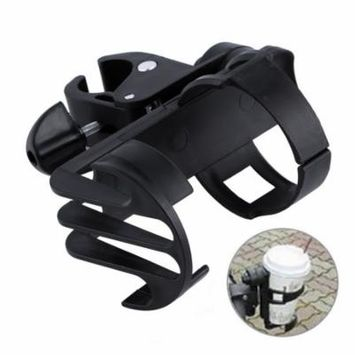 Black Plastic Baby Stroller Parent Console Organizer Cup Holder Buggy Jogger Universal