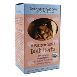 Earth Mama Angel Baby Postpartum Bath Herbs, Pads