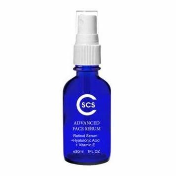 CSCS Retinol Serum with Vitamin C and Hyaluronic Acid - Anti Aging Serum for Face - Diminish Wrinkles and Fine Lines