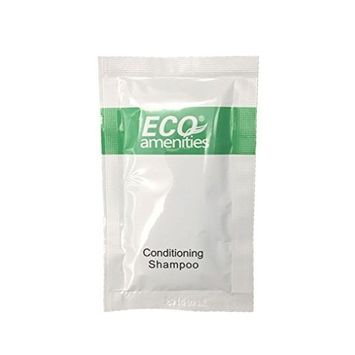 ECO Sachet Individually Wrapped 10ml Shampoo and Conditioner 2 in 1, 100 Sachet per Case
